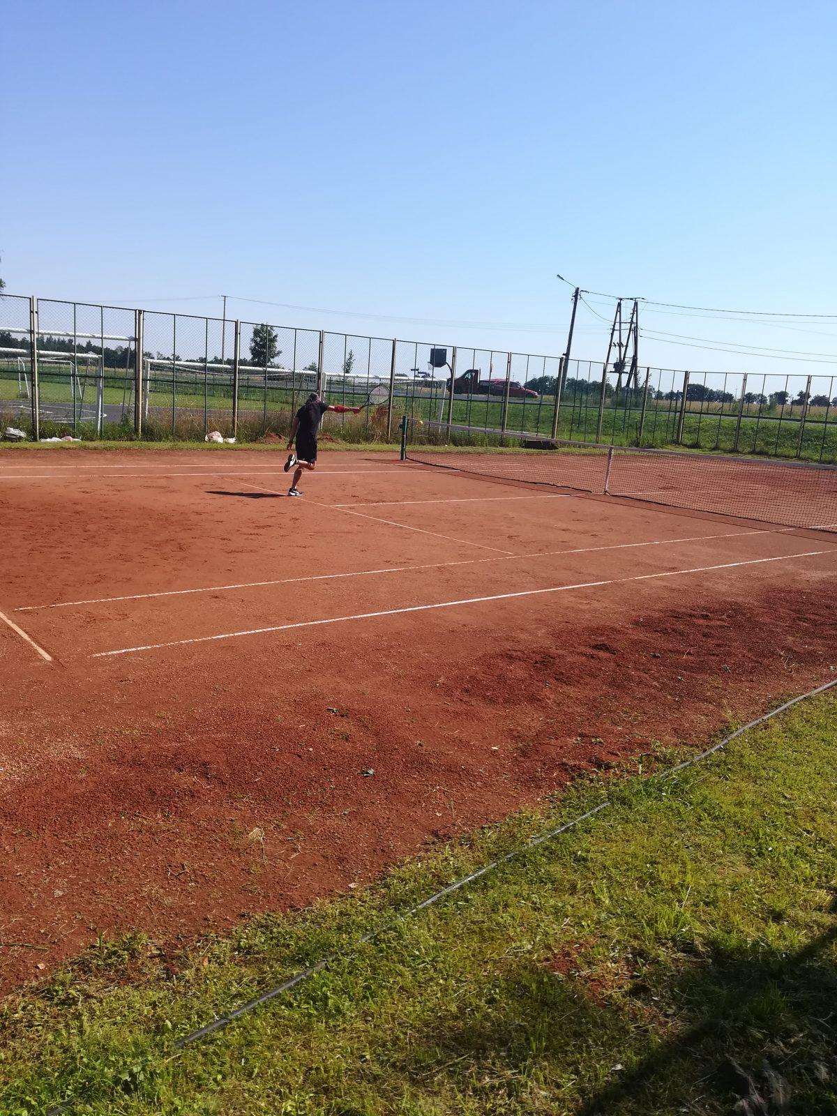 mecz tenisa ziemnego