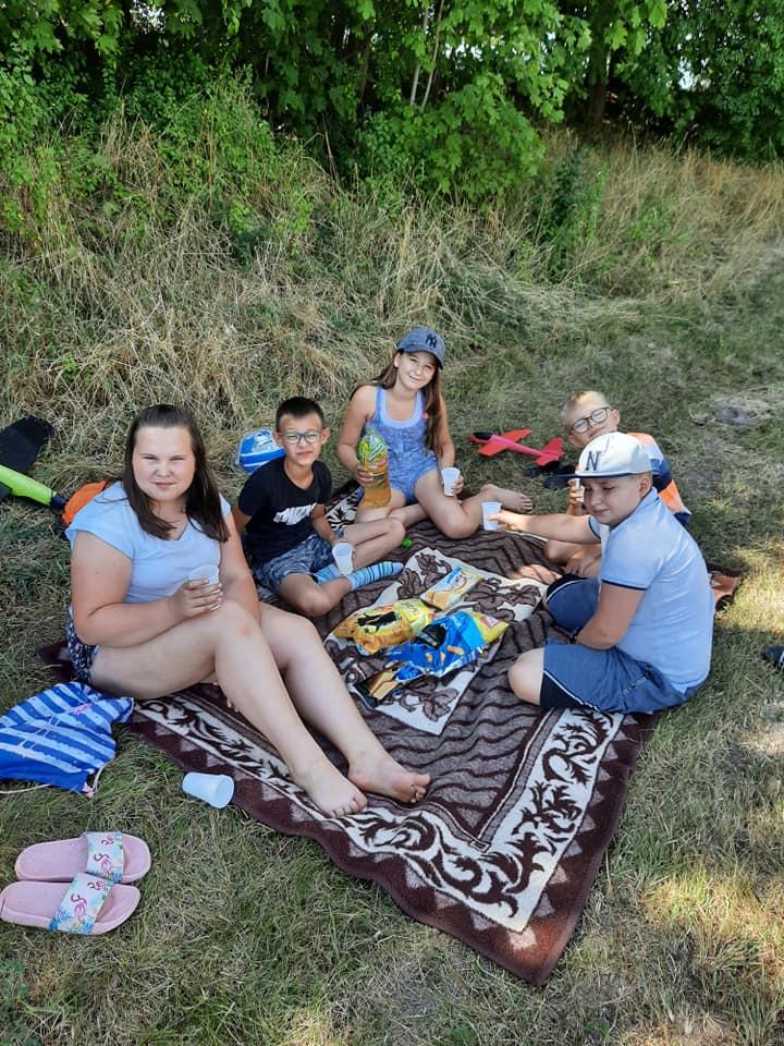 Piknik dla dzieci w Kościelnej Jani