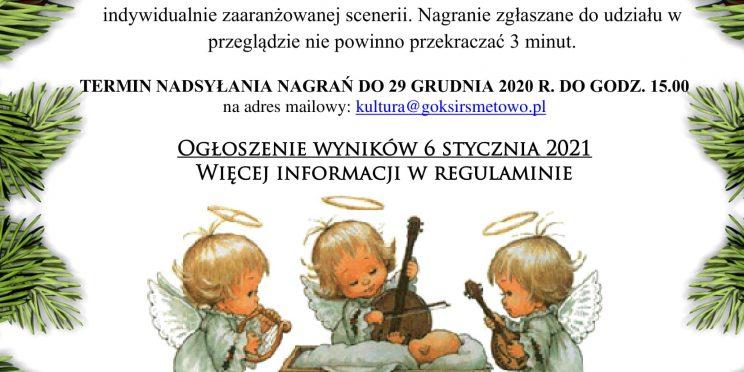 Plakat konkursowy - Konkurs Kolęd i Pastorałek