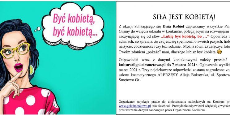 plakat konkursowy Dzień Kobiet